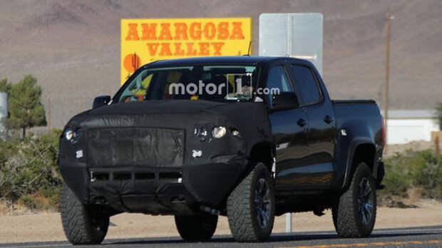 Демон пустыни: Chevrolet готовит экстремальный пикап Colorado