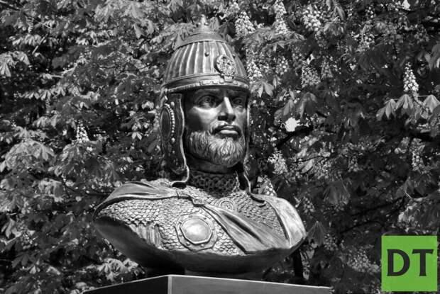 ВЛНР установили бюст полководца Александра Невского