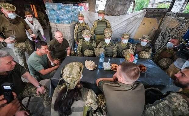 Зеленский рассказал онадеждах разрешить конфликт вДонбассе