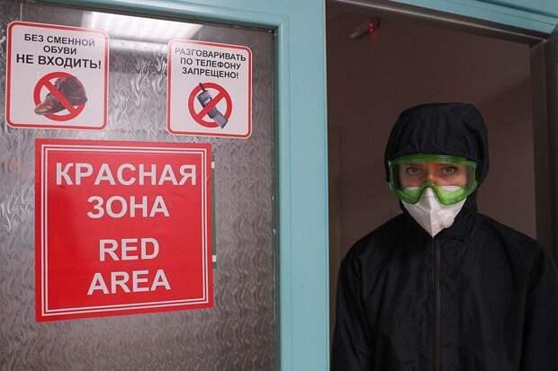 В России смертность от COVID-19 вернулась к рекордному показателю