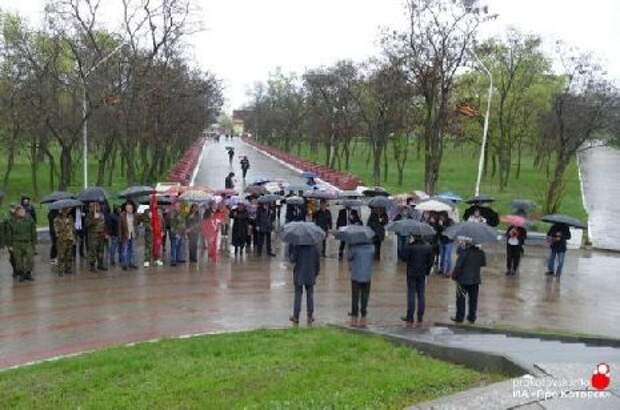 Котовск отмечает семьдесят шестой День Великой Победы