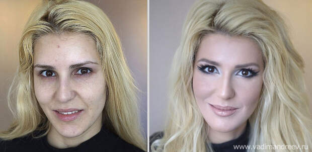 makeup20 Невероятно, но факт: визажист творит настоящие чудеса!
