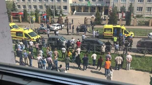Психологи МЧС дали рекомендации россиянам после стрельбы в казанской школе