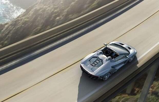 Максимальная скорость Centenario Roadster - 350км/ч, вес - 1 570кг.