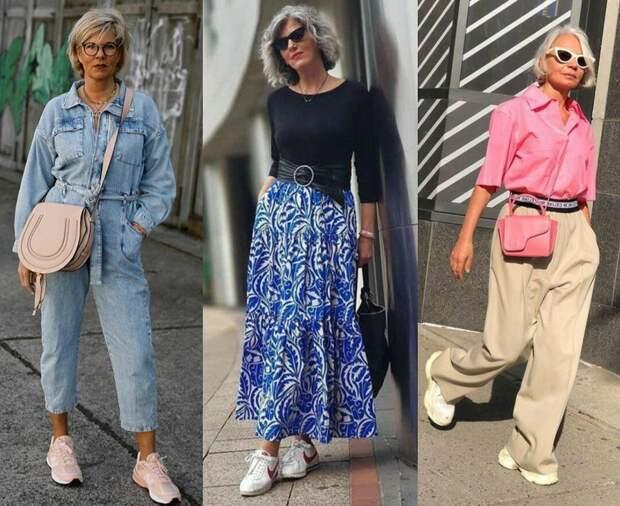 Тренды для женщин 50+ : как адаптировать их под возраст