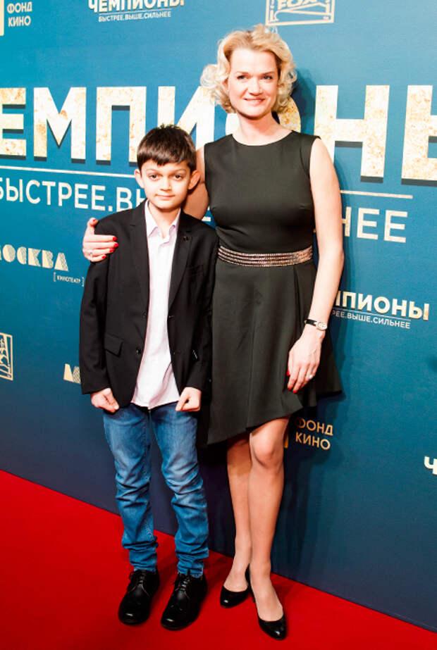 Светлана Хоркина рассекретила пол и имя второго ребенка