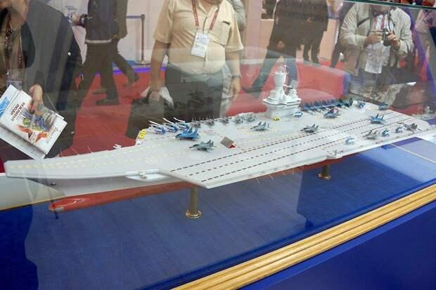 Плавучие аэродромы: какие авианосцы могут построить для ВМФ России