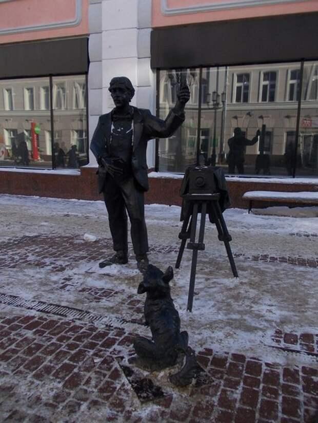 Уличные памятники Нижнего Новгорода