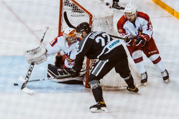 Хоккеисты «Ижстали» всухую проиграли тюменскому «Рубину»