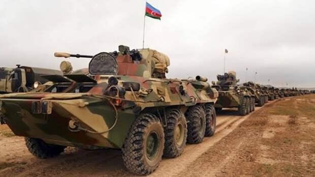 В Азербайджане анонсировали крупные военные учения