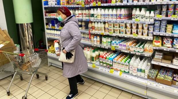 Из этой категории закупиться получилось только молоком долгого хранения