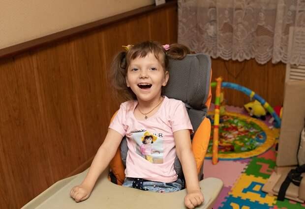 Шестилетней Наде из Краснодара нужна помощь