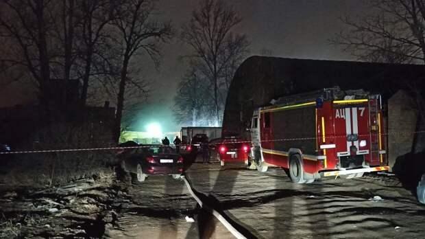Очаги горения на Невской мануфактуре потушили спустя четыре дня