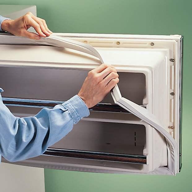 Как поменять уплотнитель холодильника своими руками
