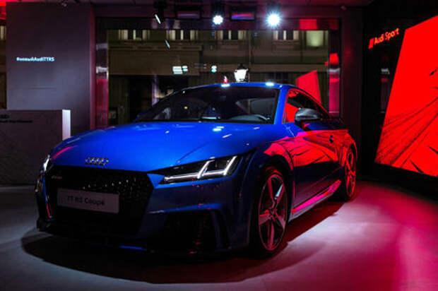 В России стартовали продажи Audi TT RS