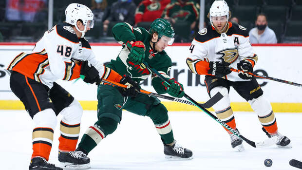 Капризов стал второй звездой дня в НХЛ