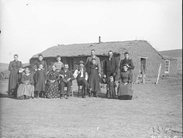 Как поднималась американская целина. Архивные фотографии пионеров Великих равнин конца 19-го века 31