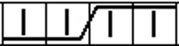 Женский капор узором «Колосок» и лицевой гладью