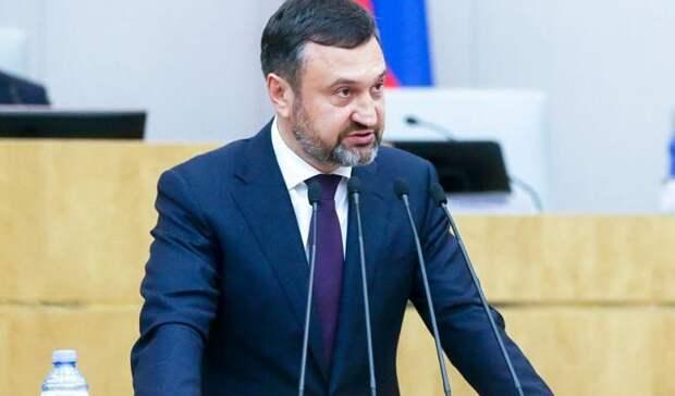 Игорь Сухарев досрочно сложил с себя депутатские полномочия в Госдуме РФ
