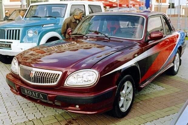 Купе «Волга» авто, автодизайн, дизайн, интересно