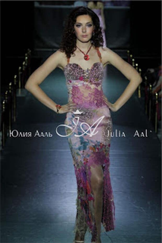 Показ коллекции Цветочная История. Модельер Юлия Ааль (Julia-Aal`) Неделя моды от Эстет