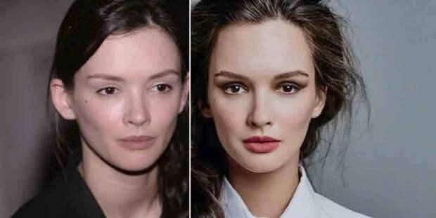 Самый лучший макияж - это фотошоп? 7 отечественных актрис-красавиц в оригинале и - после ретуши