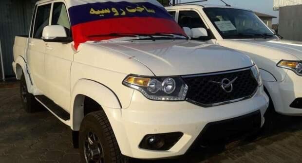 В Иране запустили продажи УАЗ «Пикап»