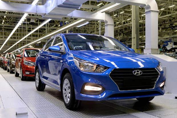 Новый Hyundai Solaris: стартовало производство в Санкт-Петербурге