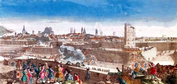 Штурм Барселоны, сентябрь 1714 года - Каталония: сепаратизм под сенью эстелады | Военно-исторический портал Warspot.ru
