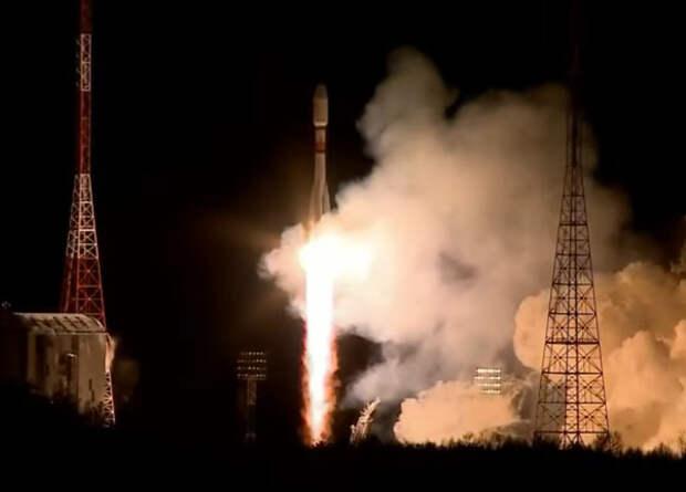 «Роскосмос» запустил 36 спутников OneWeb