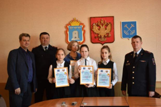 В Тамбовской области отряд ЮИД поблагодарили за активную работу по безопасности дорожного движения