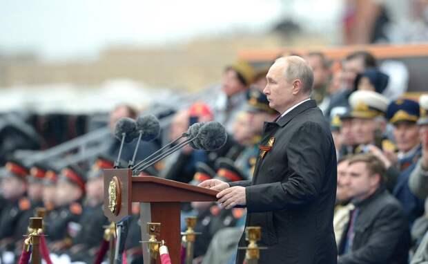 Путин на Параде Победы предупредил недругов России
