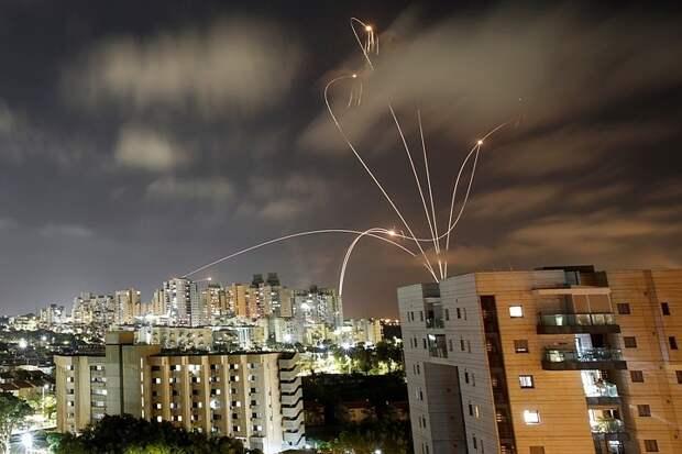 Израиль заявил, что из сектора Газа за три дня было выпущено блолее 1,5 тысячи ракет