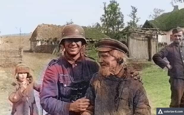 """Упыри"". Лица тех кто служил немцам. Фото."