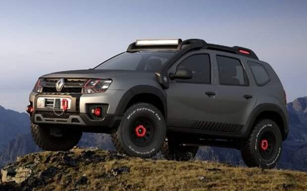 Экстремальный Renault Duster показали не в той стране