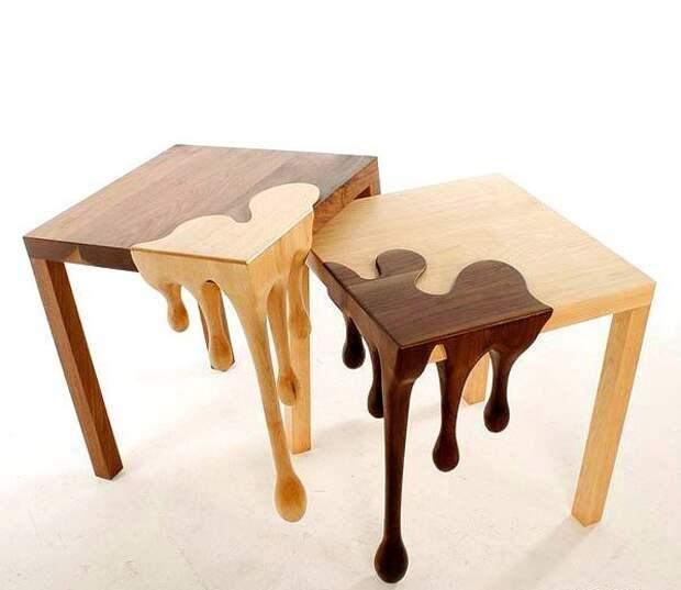И необычные деревянные Фабрика идей, дизайнеры, идеи, интересное, необычное, табуреты