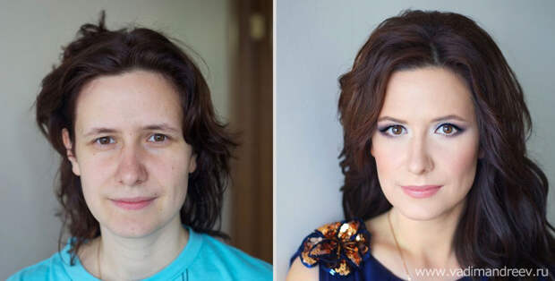 makeup12 Невероятно, но факт: визажист творит настоящие чудеса!