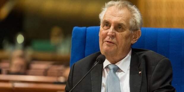 Президент Чехии прокомментировал попытку импичмента
