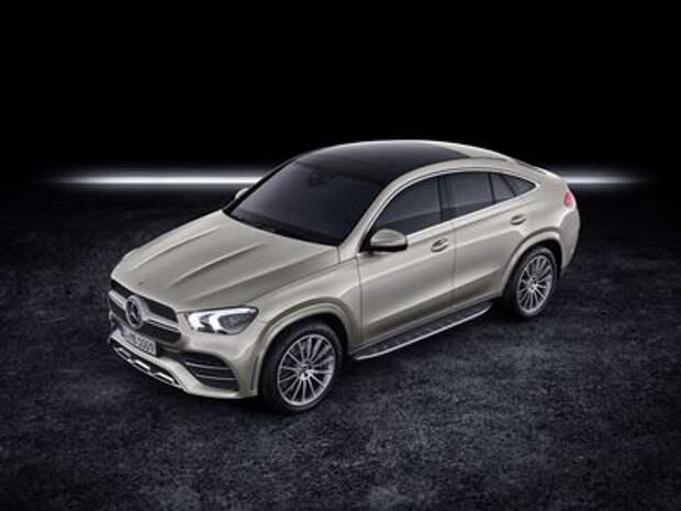 Mercedes-Benz превратил новый GLE в купе