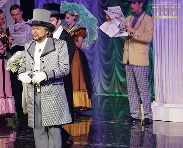 Крымский музтеатр покажет премьеру мюзикла-детектива