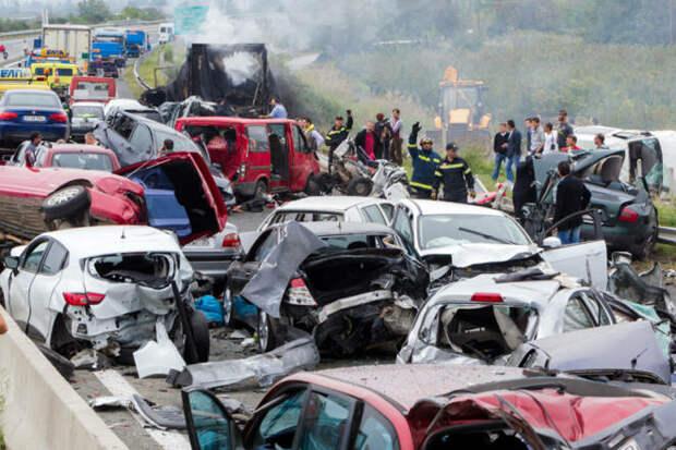 Тест выявил самое опасное место в машине во время ДТП