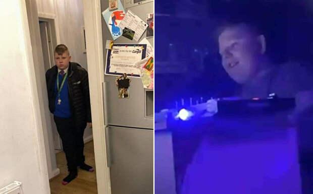 Английский малыш устроил подпольное пати в школьном туалете