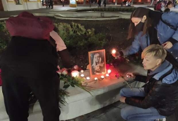 В Нижнем Новгороде прошло стихийное шествие памяти Ирины Славиной