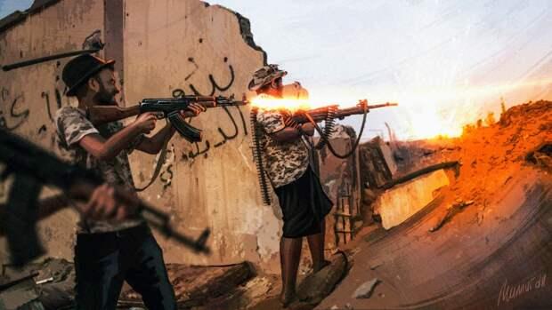 Отряд террористов напал на позиции сирийской армии в Идлибе