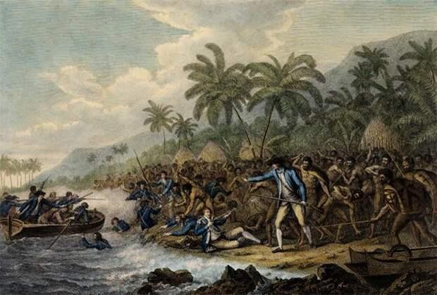 Зачем и как аборигены съели Кука? история, кук, путешествия