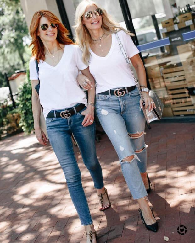 Что носить с джинсами: 11 стильных идей