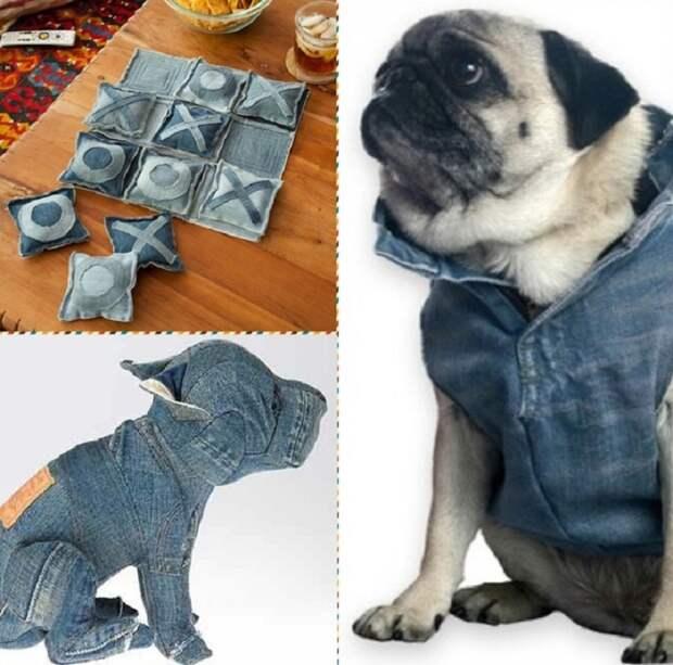 что сделать из джинсов своими руками