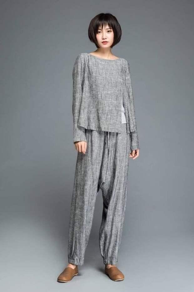 Стильная льняная одежда 2021