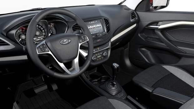 Фотошпионы рассекретили салонрестайлинговой модели Lada Vesta