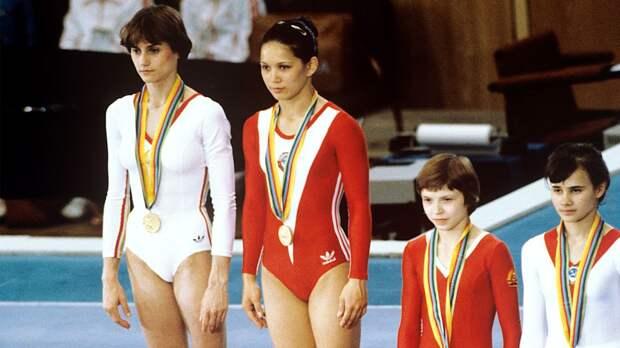 Гимнастический скандал на Олимпиаде-80. Почему судьи дали гимнасткам Ким и Команечи по золотой медали